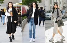 Tất cả bí kíp mặc đẹp ngày se lạnh mà bạn cần nằm cả ở street style tuần qua của giới trẻ Hàn