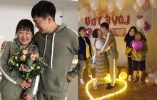 Màn cầu hôn khó tin của danh hài Hàn giảm 30kg và bạn trai: Bí mật bố trí, ai ngờ ngỏ lời cùng ngày, mặc giống nhau