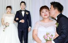 Đám cưới danh hài giảm 30kg để lấy chồng: Cô dâu chú rể không đẹp lung linh, hôn lễ chẳng khủng nhưng vẫn siêu hot