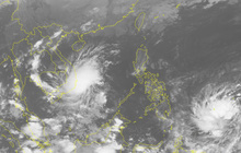 Áp thấp nhiệt đới mạnh lên thành bão số 8 Toraji, áp sát đất liền