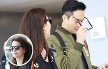 """Vợ chồng Viên Vịnh Nghi - Trương Trí Lâm cãi nhau tại sân bay, """"mặt nặng mày nhẹ"""" cả dọc đường"""