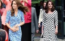 Dù thời trang có xoay vần thế nào, Công nương Kate vẫn không ngừng say mê kiểu váy này