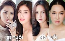 Cuộc chiến nhan sắc đỉnh cao của 8 cặp mỹ nhân bằng tuổi hàng đầu Thái Lan: Bất ngờ nhất là số 2 và 8