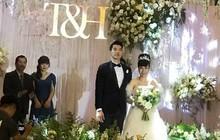 Hình ảnh hiếm hoi trong đám cưới Trương Nam Thành và bạn gái doanh nhân lớn tuổi