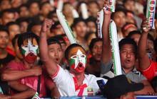 """Fan Việt Nam và Myanmar """"khẩu chiến"""" dữ dội trước giờ G"""