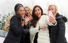 Ngày đầu của Minh Tú tại Miss Supranational: Mặc tuyết rơi vẫn tươi tắn hết cỡ, sẵn sàng cho đại diện Phillippines mượn trang phục dạ hội
