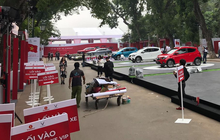 Lộ diện thêm một mẫu xe hơi mới toanh trước giờ ra mắt xe VinFast tại Hà Nội