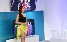 Nữ MC mặc bikini lên truyền hình nói gì?