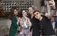 Dàn sao Việt tranh thủ làm đẹp nhân ngày khai trương M By Chí Tâm Hair & Beauty Spa