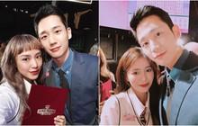 """Mẫn Tiên, Salim khoe ảnh selfie với Jung Hae In - mỹ nam """"Chị đẹp mua cơm ngon cho tôi"""""""