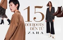 """15 đôi boots đến từ Zara sẽ giúp mọi set đồ mùa lạnh của các nàng tăng thêm vài phần """"sang xịn"""""""
