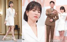 Song Hye Kyo đập tan tin đồn bầu bí nhờ eo siêu nhỏ, đẹp đỉnh cao bên Park Bo Gum tại sự kiện hot nhất hôm nay