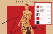 """Chưa đầy 1 ngày mở bán, """"Dramatic"""" của Bích Phương leo thẳng hạng 1 BXH Album bán chạy nhất trên iTunes"""