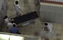 Hà Nội: Bệnh nhân nhảy lầu tự tử trong khuôn viên Bệnh viện Bạch Mai
