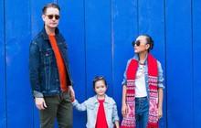 """Con gái Đoan Trang mới 4 tuổi đã ra dáng fashionista nhí, cùng bố mẹ thực hiện bộ ảnh mới cực """"chất"""""""