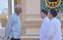 Chủ nhân tượng vàng Oscar Morgan Freeman đến Tây Ninh quay phim truyền hình