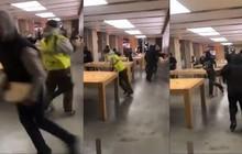 Bạo loạn tại Pháp, người biểu tình ngang nhiên vào Apple Store đập phá và đánh cắp nhiều iPhone, iPad, MacBook