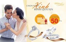 Chọn nhẫn xinh, rinh quà xịn từ thương hiệu Wedding Land