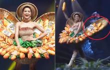 """Miss Universe 2018: Trang phục """"bánh mì"""" gặp sự cố, H'Hen Niê vẫn xử lý quá đỗi tài tình khiến chẳng ai nhận ra"""
