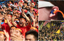 Cổ vũ bóng đá an toàn trên sân: Nhớ trang bị thứ này nếu không muốn tổn hại thính giác vĩnh viễn
