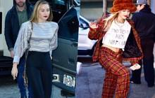 Trở về với tóc dài, Miley Cyrus gây ấn tượng với vẻ đẹp ngày càng sang chảnh trên phố