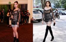 """Diện cùng 1 thiết kế váy, Hoàng Yến Chibi sẽ """"ngang tài ngang sức"""" Kỳ Duyên nếu không chọn kiểu giày này"""