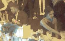 Vợ chồng Beckham nắm chặt tay trước ống kính, nhưng khi vào dự tiệc lại có thái độ khác hẳn
