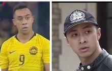 """Cộng đồng mạng thích thú vì sự giống nhau khó tin giữa tiền đạo tuyển Malaysia với soái ca trong """"Quỳnh búp bê"""""""