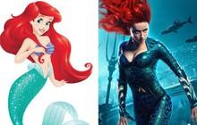 """Hóa ra công chúa của """"Aquaman"""" chính là phiên bản hiện đại của nàng tiên cá Ariel mà không ai hay!"""