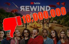 """YouTube Rewind 2018 lập kỷ lục: 10 triệu Dislike trong 1 tuần, vượt cả """"Baby"""" (Justin Bieber) suốt 8 năm qua"""