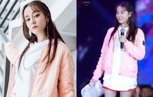 """Địch Lệ Nhiệt Ba lại """"đốn tim"""" dân tình khi tết tóc, diện đồ nữ sinh """"cute"""" như idol Kpop"""