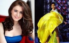 Hoa hậu Hoàn vũ 2005 hết lời khen ngợi màn xoay váy đỉnh cao của H'Hen Niê trên sân khấu Bán kết Miss Universe