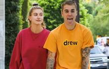 Justin Bieber vừa lè lưỡi vừa nắm tay bà xã Hailey đi hẹn hò