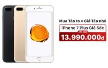 iPhone 7 Plus 32GB giảm 4 triệu tại FPT Shop, giá bằng iPhone 7