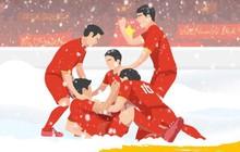 10 năm hành trình lấy lại ngôi vô địch: Đội tuyển cứ giữ vững niềm tin vì ở đâu cũng có người hâm mộ đồng hành!