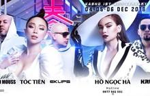 """Hồ Ngọc Hà, Tóc Tiên cùng dàn DJ """"khủng"""" đốt cháy sân khấu tại The Observatory Party"""