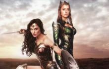 Khoảnh khắc màn ảnh nhìn là đứng tim của hai nàng công chúa Mera và Wonder Woman