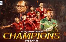 Việt Nam đánh bại Malaysia, dân mạng nước ngoài hết lời khen ngợi và chúc mừng tân quán quân AFF Cup 2018