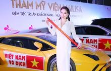 Ca sĩ Bảo Thy, Mỹ Tâm, Ngọc Hân, Huyền My hội tụ tại sự kiện cổ vũ đội tuyển Việt Nam trong trận chung kết AFF Cup