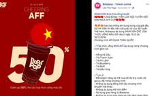 Cổ vũ Việt Nam vô địch, nhiều cửa hàng đã giảm giá đồ ăn, đồ uống kèm theo phần quà lên đến cả triệu đồng trước giờ chung kết AFF Cup