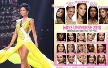 H'Hen Niê bất ngờ đứng vị trí thứ 17 trong BXH cuối cùng của chuyên trang sắc đẹp uy tín quốc tế trước thềm chung kết Miss Universe