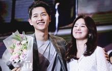 """Fan réo tên cặp đôi Song - Song khi nhạc phim """"Hậu duệ mặt trời"""" được vang lên trên show thực tế"""