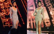 Cận cảnh chiếc váy H'Hen Niê mặc khi lọt top 5 Miss Universe 2018: đính 3000 viên đá quý, mất hơn 1 tháng để thực hiện