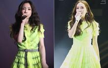 Diện chung 1 mẫu váy, Taeyeon ấn tượng hơn hẳn Jessica chỉ nhờ một chi tiết
