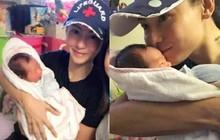 Rộ hình ảnh được cho là Trương Bá Chi bồng bế con trai thứ 3 mới sinh cho người tình bí mật