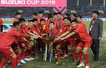 Đội tuyển Việt Nam được thưởng hơn 30 tỷ đồng sau khi vô địch AFF Cup 2018
