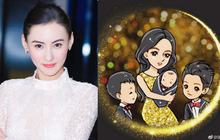 Quý tử thứ 3 tròn 1 tháng tuổi, Trương Bá Chi mới chính thức thừa nhận sinh con cho người tình bí mật