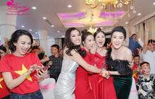 Ngọc Hân, Mỹ Linh, Huyền My đồng loạt diện váy khoe trọn vai trần gợi cảm tại sự kiện