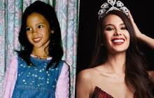 """Hành trình """"dậy thì thành công"""" từ thời thơ bé cho tới khi trưởng thành của Tân Hoa hậu Hoàn vũ 2018"""
