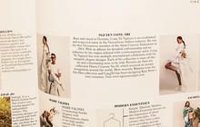 Được toàn siêu sao thế giới chọn diện, thế nên chẳng mấy bất ngờ khi NTK Công Trí lại xuất hiện trên Vogue Anh